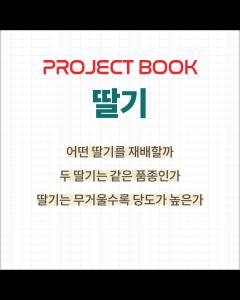 [프로젝트 북]딸기